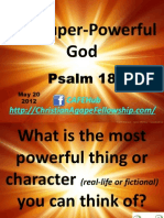 The Super-Powerful God