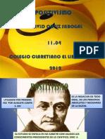 FILOSOFIA POSITIVISMO - Ortiz - 1104