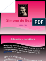 Simone de Beauvoir - Villegas - 1104