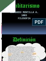 Utilitarismo - Montilla - 1103