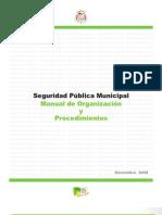 Manual de Procedimientos Seguridad Publica