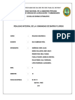 Realidad Amazonica Barrio Florido Monografia