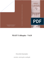 Mast Colloquia 8 - Discutindo Exposições