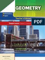 Geometry Sampler