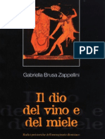 Brusa-Zappellini - Il Dio Del Vino e Del Miele - Indice e Cap.I