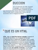 Presentacion Que Es Un HTML