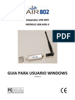 USB-ADG-3 User Manual (Espanol)- Windows V1[1].0