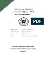 Implementasi Kebijakan e-KTP