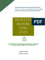 Objetivo Basura cero 2025
