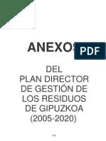 Plan Director de Gestión de Residuos de Gipuzkoa 10. Anexos.