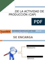 CONTROL DE LA ACTIVIDAD DE PRODUCCIÓN (CAP