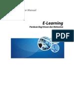 Panduan Penggunaan E-Learning Dosen Mahasiswa