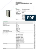 Modicon M340 Automation Platform BMXAMI0410