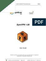SymVPN 1 00 S60 UserGuide