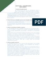 Questionário de revisão - 1ª prova Direito das Obrigações