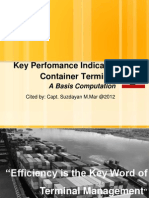 Key Performance Indicator of Container Terminal (In Indonesian)