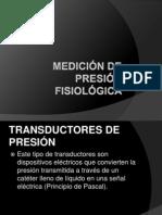 MEDICIÓN DE PRESIÓN FISIOLÓGICA