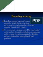 Brand Strategies
