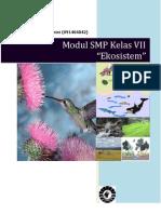 Modul Ekosistem Kelas VII