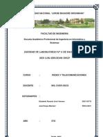 Informe Packet Tracer 6