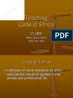Teaching Code of Ethics
