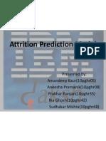 Predictive Attrition Model