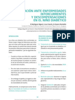 05 Actuacion Ante Enfermedades Intercurrentes y Descompensaciones en El Nino Diabetico