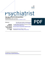 The Rise and Fall of Anti-psychiatry