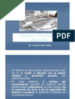 Semana 8 Validez interna, sesgo y criterios de selecci+¦n - Dr. Cristian D+¼az - 02.05.12