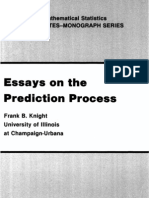 Knight-essays on the Prediction Process-81