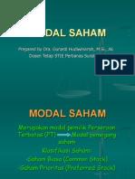 10 Modal Saham