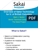 ECMAC-Sakai Technical Presentation Mark Norton 19913411