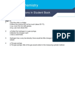 A2 Chemistry Answer Book