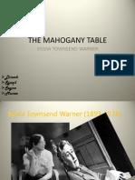 The Mahogany Table (2)