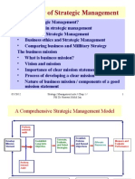 Mgt 658 Chap 1a What is Strategic Management