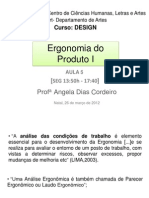 Ergonomia 1 aula 5 26 03 12
