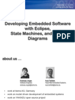 Development Embedded State Charts Block Diagrams