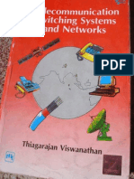 Telecommunication Switching Systems and Networks by Thiagarajan Vishwanathan