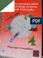 Telecommunication Switching Systems and Networks by Thiagarajan Vishwanathan
