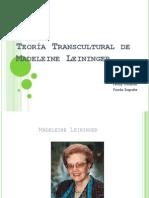 Teoría Transcultural de Madeleine Leininger