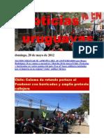 Noticias Uruguayas Domingo 20 de Mayo de 2012