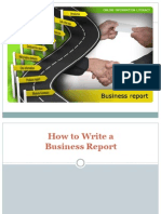 How to Write a Business