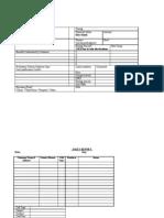 Prospect Validation Sheet