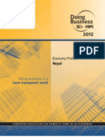 Nepal Doing Business 2012