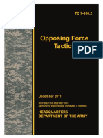 Tc 7-100.2 Opfor Tactics Dec 2011
