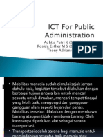 ICT for Public Administration