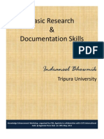 Basic Research & Documentation Skills
