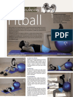 Ejercicios fitball
