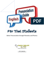 English Pronunciation Guide for Thai Students