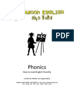 Phonics How to Read English Fluently